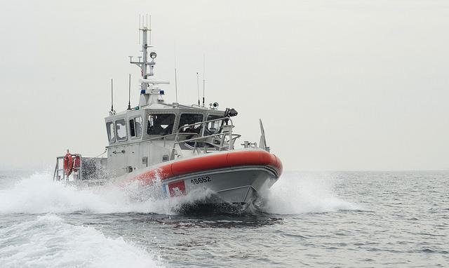 A 45-foot Response Boat Medium vessel. (Photo: U.S. Coast Guard)