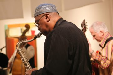 Friday Night Jazz at Woodmere Art Museum offer weekly performances up until March 18 (Natavan Werbock/for NewsWorks)