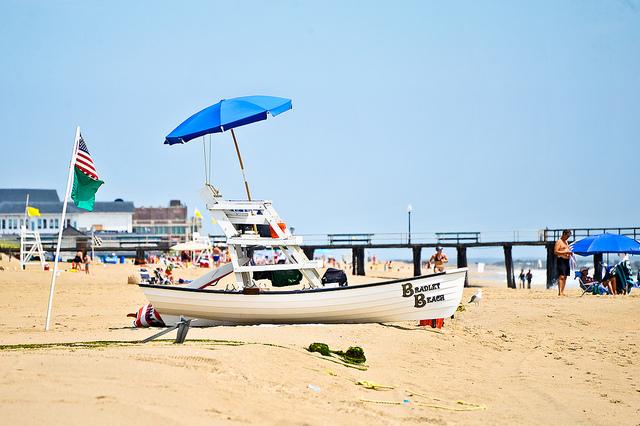 Bradley Beach in July 2013. (Photo: pennuja via Flickr)
