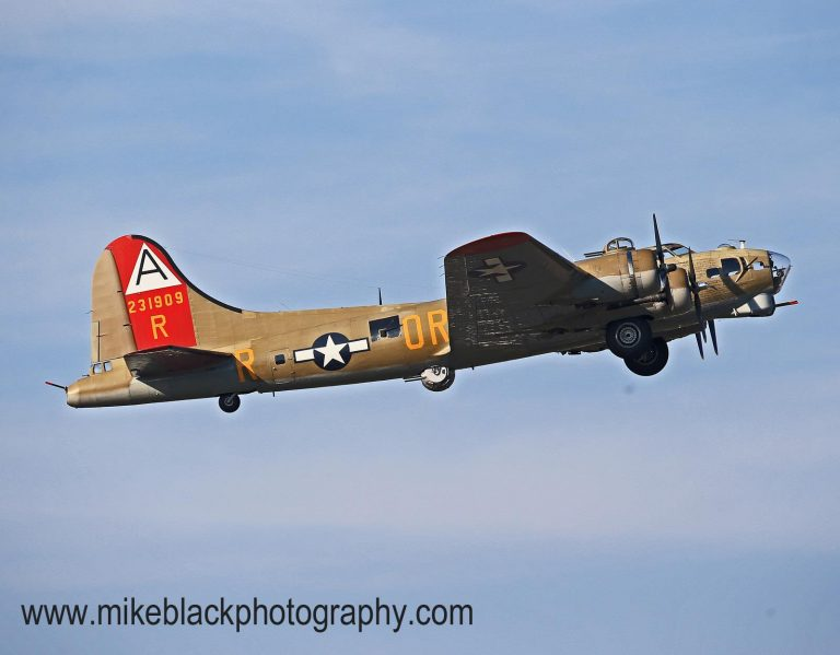 The B-17 Flying Fortress at the 2012