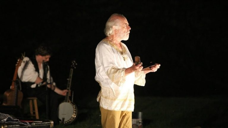 David Howey as Prospero, the lead character in 'The Tempest,' in a production by Commonwealth Classic Theatre Company. (Photo courtesy of Andrew Hazeltine)