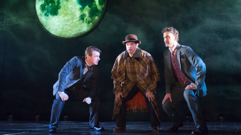 In Philadelphia Theatre Company's production of 'Baskerville,