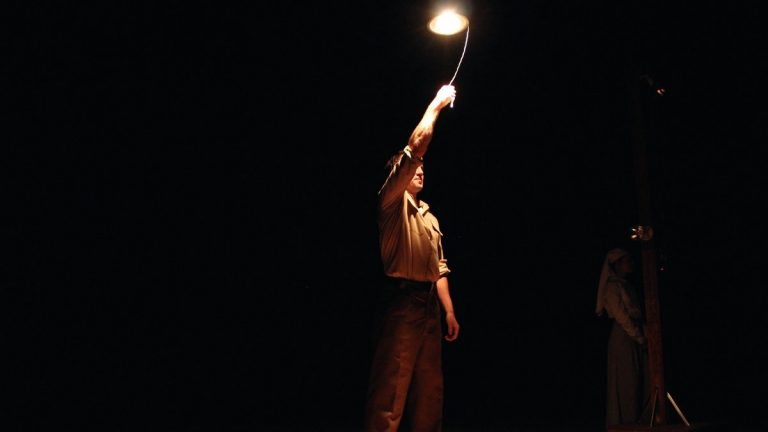 Bryant Martin in Pig Iron Theatre Company's 'Gentlemen Volunteers.' (Photo courtesy of Lindsay Browning Photography)
