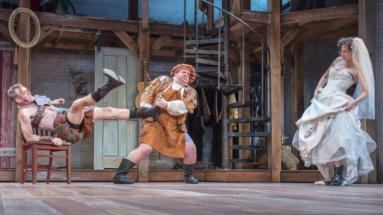 In Pennsylvania Shakespeare Festival's production of 'The Taming of the Shrew