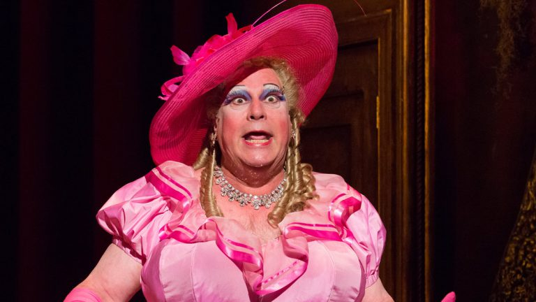Mark Lazar as Mama C — every panto needs a man playing an over-the-top woman — in the People's Light world premiere of 'Sleeping Beauty.' (Photo courtesy of Mark Garvin)