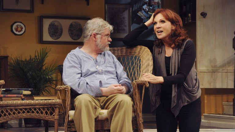 Playwright Christopher Durang as Vanya and Marilu Henner as Masha in Durang's