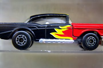 A Matchbox Superfast Series, '57 Chevy. It was released in 1983. (Bastiaan Slabbers/for NewsWorks)