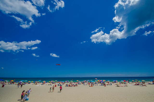 Seaside Heights beach in Aug. 2013. (Photo: Kevin Jarrett via Flickr)