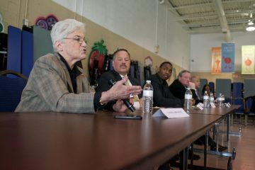 Philadelphia's Democratic mayoral candidates will meet up again Tuesday night, this time for a Next Great City Coalition forum. (Bas Slabbers/for NewsWorks)