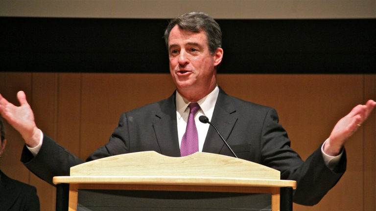 Douglas Gansler, the special deputy attorney general in charge of reviewing the 'porngate' material to prosecute any crimes or ethics offenses, says he has more than a million emails to review.(Emma Lee/WHYY)