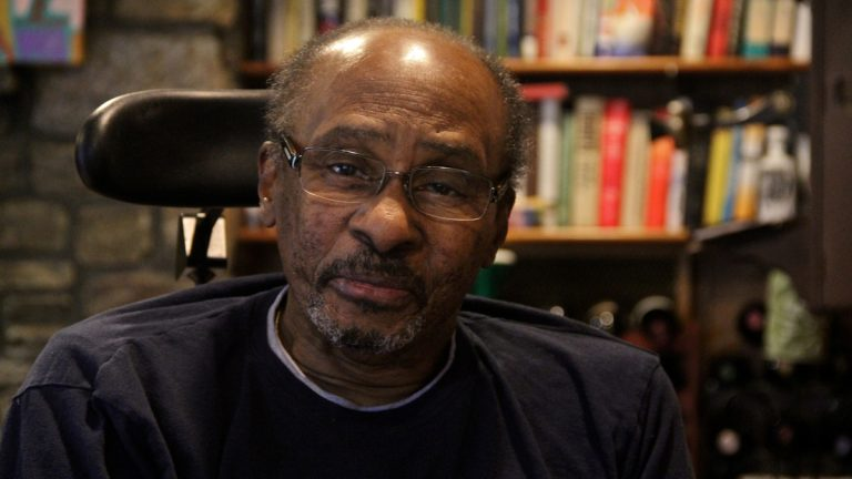 Acel Moore started as a 'copy boy' at the Philadelphia Inquirer and went on to blaze a trail for African-American journalists. (Emma Lee/WHYY)