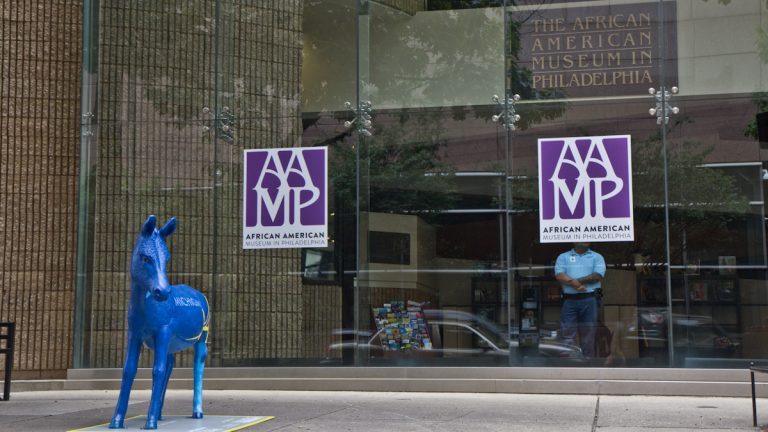 The African American Museum (Kimberly Paynter / WHYY)