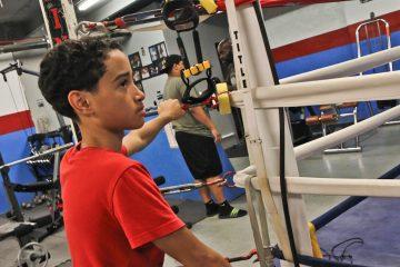 Alex Gonzalez, 13, used to lead a hybrid gang of kids in Philadelphia's Kensington neighborhood called Bad Boys Rumble. (Kimberly Paynter/WHYY)