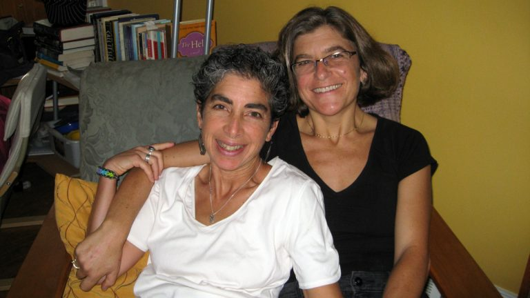 From left: Anndee and Elissa (Image courtesy of Anndee Hochman)