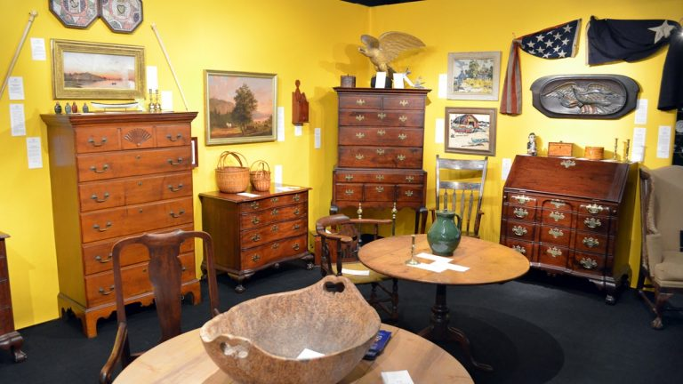 Antiques, like the ones seen here from last year's show, will be on display (photo courtesy of Winterthur Museum)