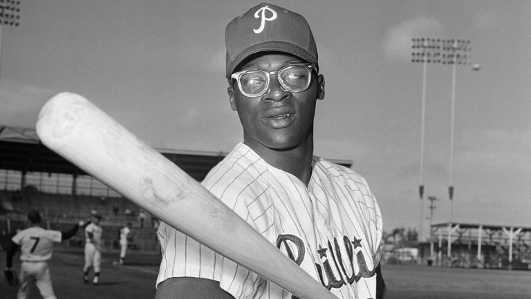Dick Allen takes part in spring training in 1964. (AP file photo)