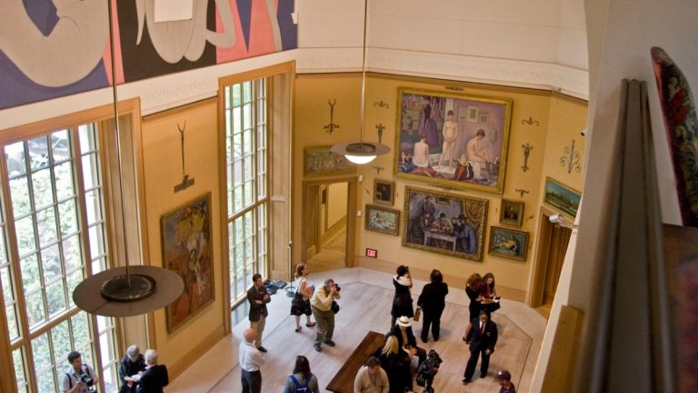 Head to the Barnes Foundation for family-friendly Cézanne activities. (AP Photo)