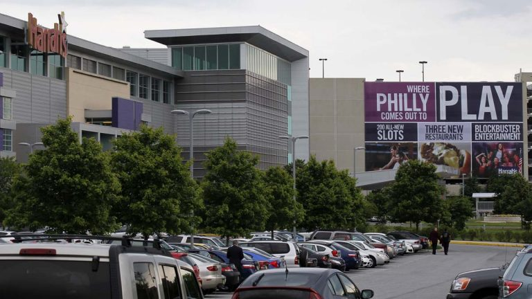 Ron Baumann, general manager at Harrah's Philadelphia Racetrack and Casino in Chester, says a second casino in Philadelphia would hurt business significantly at the establishment in the struggling city.(AP photo/Alex Brandon)