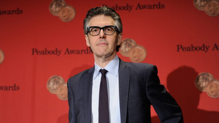 Ira Glass attends the George Foster Peabody Awards in May 19. He will appear Saturday at the Kimmel Center. (Photo by Evan Agostini/Invision/AP)