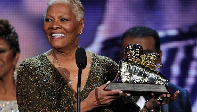 Pop music legend Dionne Warwick, shown here accepting the 2013 Soul Train Legend award, will perform at Revel's Ovation Hall on Friday night. (Frank Micelotta/Invision/AP)