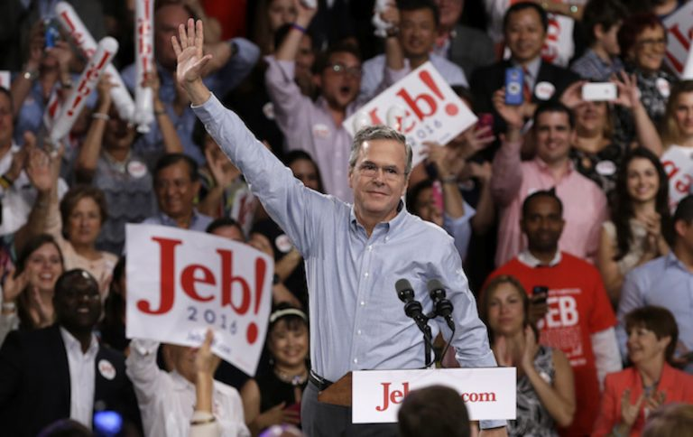 Former Florida Gov. Jeb Bush (Susan Walsh/AP Photo)