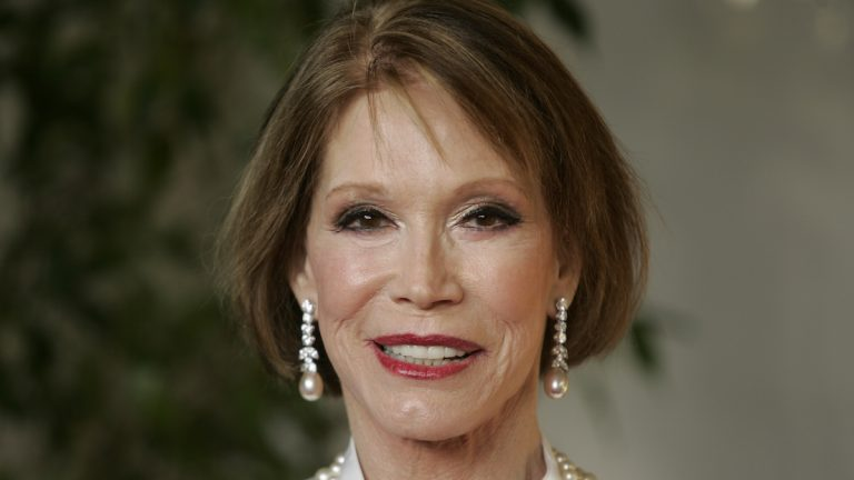 Mary Tyler Moore at the 13th Annual Screen Actors Guild Awards on Sunday