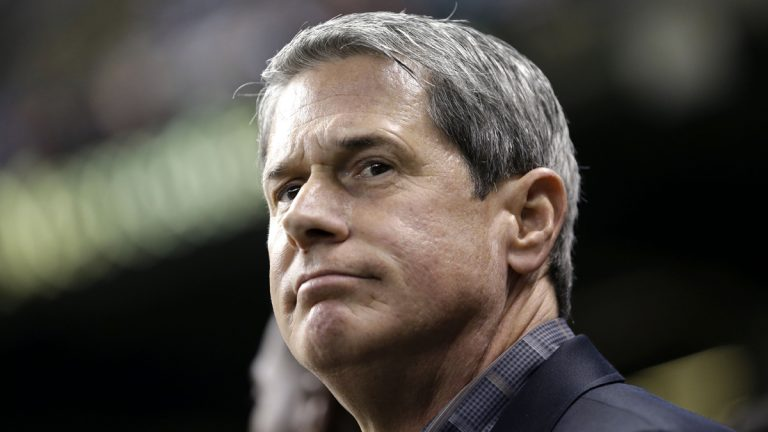 Louisiana Republican gubernatorial candidate, David Vitter, is the subject of an ad from his opponent alleging that Vitter disrespected dead American soldiers in his pursuit of hooker sex. (AP file photo)
