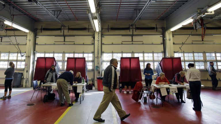 About 5 percent of New Jersey's black voting-age population cannot participate in the political process, according to the Institute for Social Justice. That's more than twice the rate in neighboring New York and Pennsylvania. (AP file photo)
