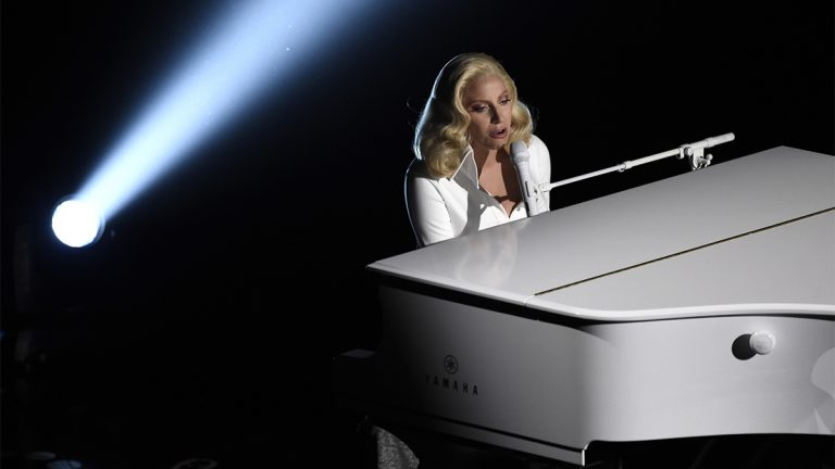 Lady Gaga will perform in Atlantic City Saturday night at Boardwalk Hall. (AP Photo/Zacharie Scheurer, file)