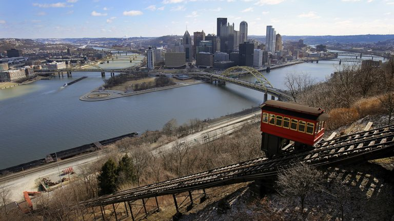 The Duquesne Incline is one of two cable-propelled transit systems in Pittsburgh. Built in the 1870's