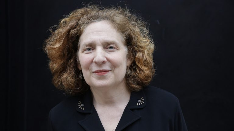 Julia Wolfe poses for a portrait