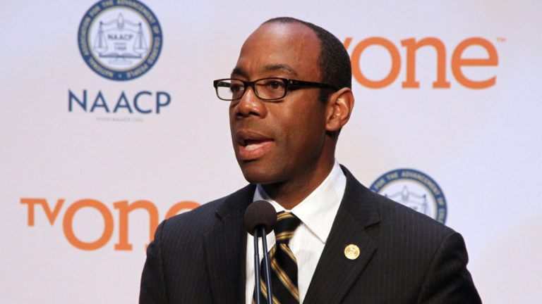 Cornell Brooks, NAACP president and CEO, said the conventioneers in Philadelphia will