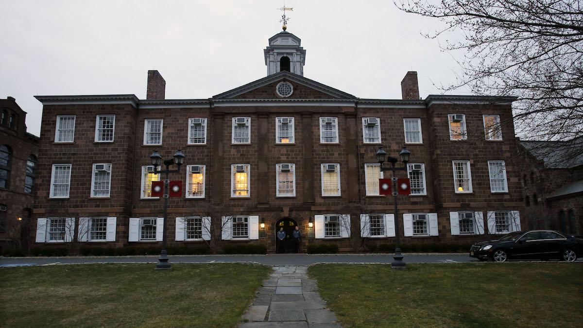 Rutgers University in New Brunswick