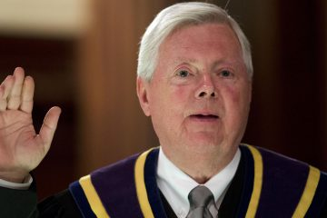 Pennsylvania Chief Justice Thomas Saylor will turn 70