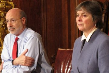 Pennsylvania Gov. Tom Wolf and his wife