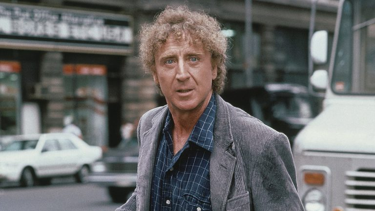 "Gene Wilder is shown in character as he films Tri Star Pictures' ""See No Evil"