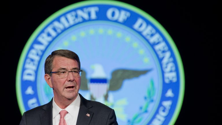 U.S. Defense Secretary Ash Carter is expected to decide soon on the ability of  transgender service members to serve in uniform. The department has also called for expanded health benefits that would cover hormone therapy for trans service members.  (AP Photo/Manuel Balce Ceneta)