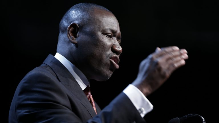 Benjamin Crump was in Philadelphia Wednesday to discuss the state of community-police relations — and how to make them better. (AP file photo)