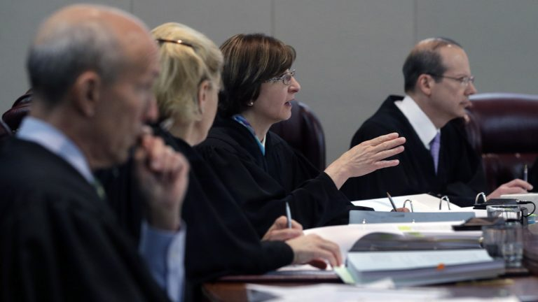 The New Jersey Supreme Court, pictured in May, has rejected a company's claim that