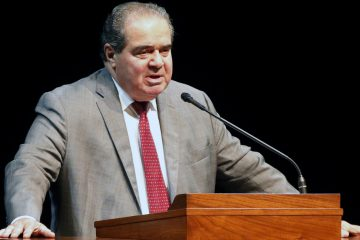 FILE - In this Oct. 20, 2015 file photo, Supreme Court Justice Antonin Scalia speaks at the University of Minnesota in Minneapolis. Senate Minority Leader Harry Reid of Nev., on Thursday blasted Scalia for uttering what he called