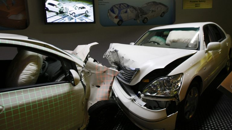 Toyota has for years blocked access to data stored in devices similar to airline 'black boxes' that could explain crashes blamed on sudden unintended acceleration, according to an Associated Press review of lawsuits nationwide and interviews with auto crash experts. (Shuji Kajiyama/AP Photo)