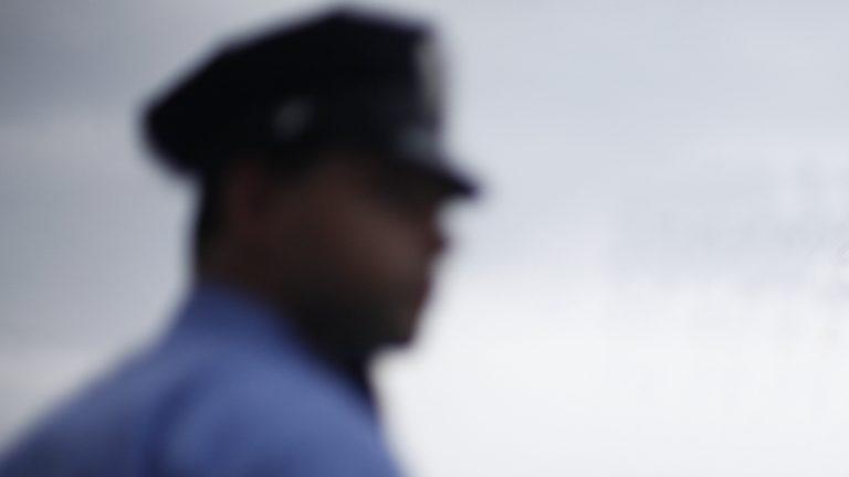 A Philadelphia police officer (AP Photo)