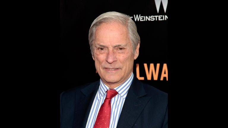 In this April 7, 2014 file photo, Bob Simon of '60 Minutes,' attends the New York premiere of 'The Railway Man' in New York. CBS says Simon was killed in a car crash on Wednesday, Feb. 11, 2015, in Manhattan. Police say a town car in which he was a passenger hit another car.  He was 73. (Photo by Andy Kropa/Invision/AP, File)