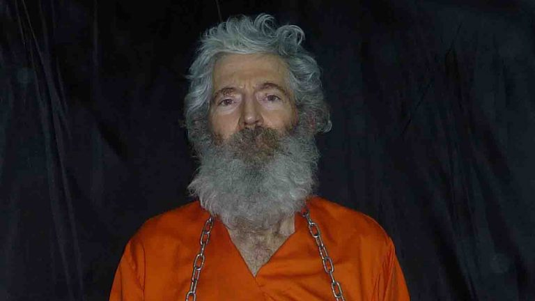 This undated photo provided by the family of Robert Levinson, shows retired-FBI agent Robert Levinson in a photo the family received in April 2011. In March 2007, Levinson flew to Kish Island, an Iranian resort. Days later after a meeting with an admitted killer, he vanished. For years the U.S. has publicly described him as a private citizen who was traveling on private business. However, an Associated Press investigation reveals that Levinson was working for the CIA. (Levinson Family/AP Photo)