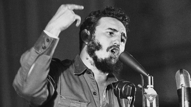 Cuban Prime Minister Fidel Castro told a massive May Day rally in Havana that the U.S. State Department is preparing