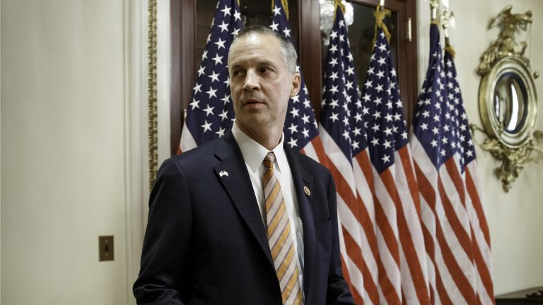 Rep. Curt Clawson, R-Fla. at the Capitol in Washington, Wednesday, June 25, 2014. Clawson won a special election in southwest Florida to replace former Rep. Trey Radel, who resigned in January after pleading guilty to cocaine possession (J. Scott Applewhite/AP Photo)