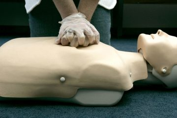 A person participates in an American Red Cross CPR training (Haraz N. Ghanbari/AP Photo, file)