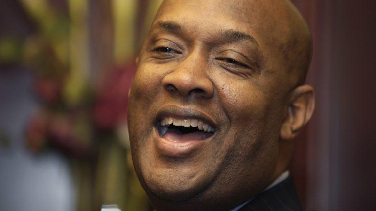 A smiling state Rep. Dwight Evans, D-Philadelphia. (Carolyn Kaster/AP Photo)