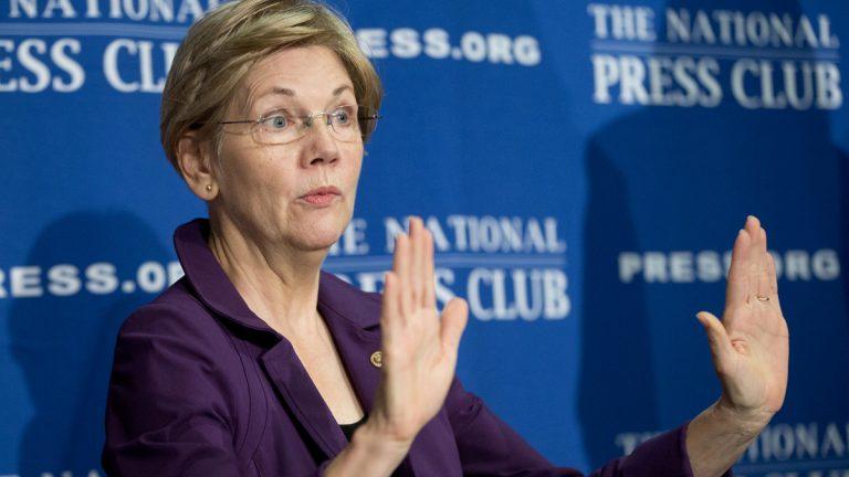 Sen. Elizabeth Warren, D-Mass., on Capitol Hill in Washington, Thursday Nov. 14, 2013. (Jacquelyn Martin/AP Photo, file)