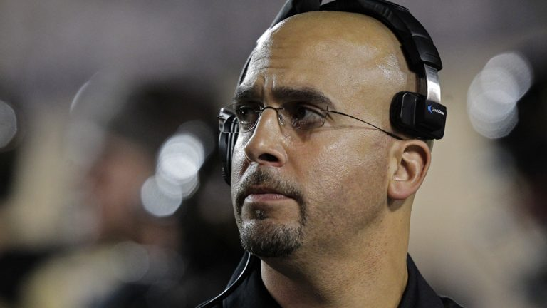 Penn State has hired James Franklin as its next head coach. (Wade Payne/AP Photo, file)